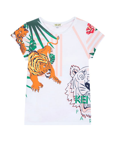 Assorted Icon Graphic T-Shirt  Size 8-12