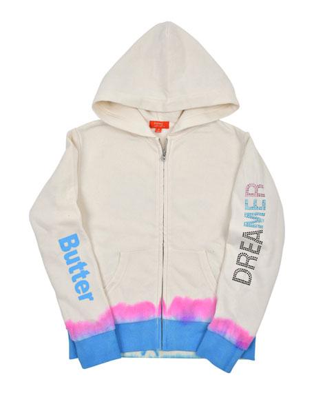 Butter Dreamer Tie Dye Zip-Up Jacket, Size S-XL