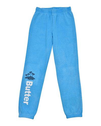Vacay Varsity Jogger Pants  Size 4-6