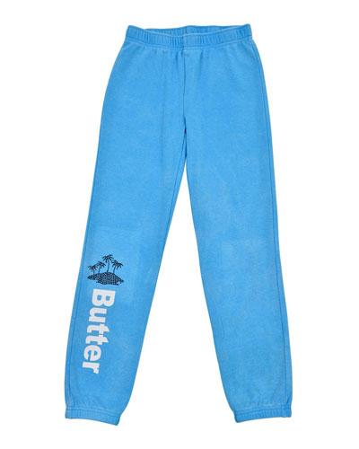 Vacay Varsity Jogger Pants  Size S-XL
