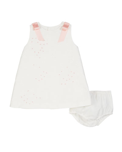 A-Line Brocade Dress w/ Bloomers  2-4T