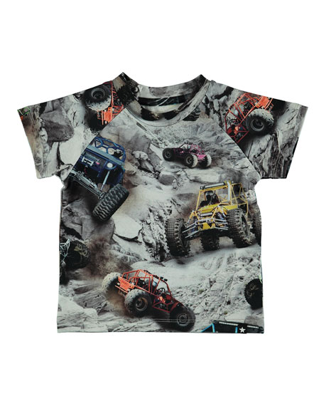 Emmett Off Road Buggy-Print Tee, Size 6-24 Months