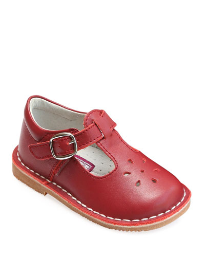Joy Leather Cutout T-Strap Mary Jane  Baby/Toddler/Kids