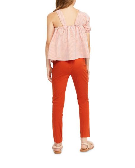 cacdfe8e05f947 Habitual Lottie Striped One-Shoulder Top, Size 7-14