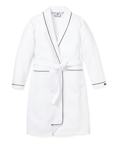 Solid Robe w/ Contrast Piping  Size 2-14