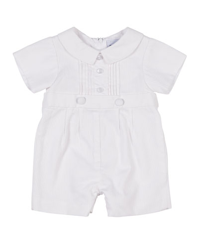 Tucked-Front Playsuit  Size 3-24 Months