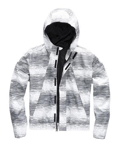 Precita Hooded Water-Repellent Jacket  Size XXS-XL