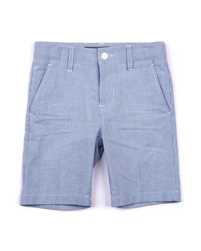 Striped Bermuda Shorts  Size 2-10