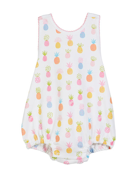 Kissy Kissy Pineapples Printed Bubble Bodysuit, Size 3-18