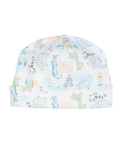 In The Jungle Pima Baby Hat