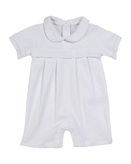 Baby Homecoming Collared Shortall, Size 0-9 Months