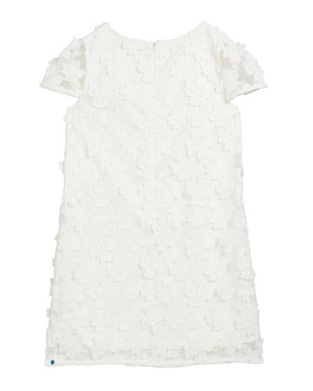 Chloe 3D Floral Applique Dress, Size 7-16