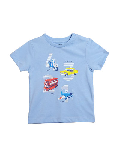 Short-Sleeve Transportation Graphic T-Shirt  Size 12-36 Months