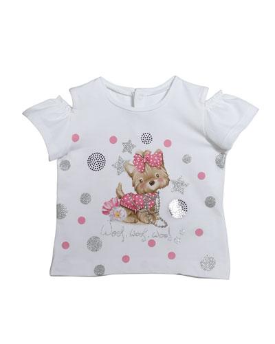 Short-Sleeve Puppy Graphic T-Shirt  Size 12-36 Months