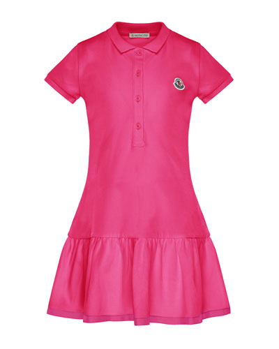 Short-Sleeve Polo Dress  Size 4-6