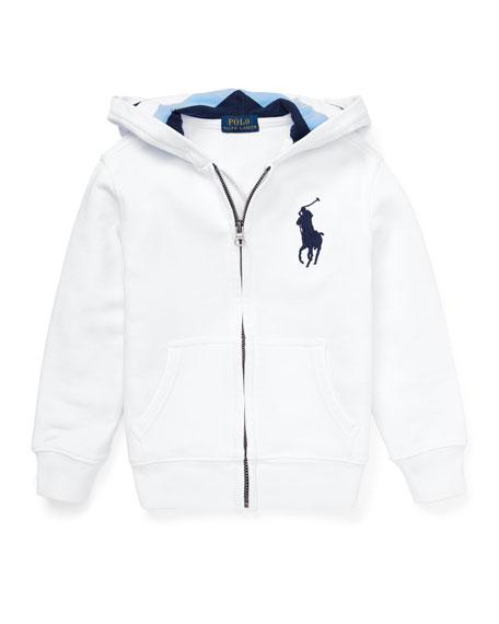 Hooded Zip-Up Jacket, Size 2-4