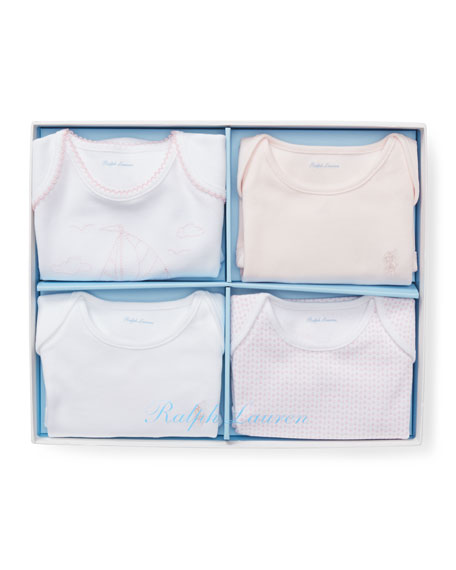 Ralph Lauren Childrenswear Bodysuit Gift Box Set 08fc025913408