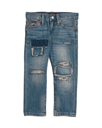 Sullivan Distressed Denim Jeans  Size 2-4