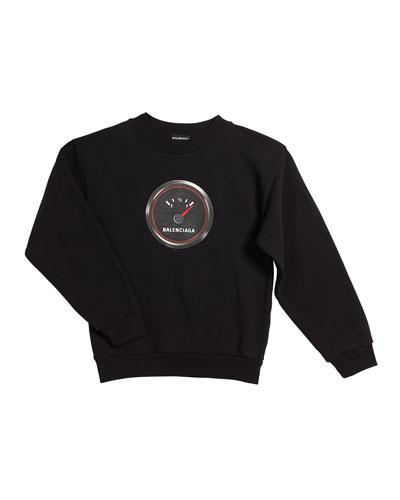 Gas Gauge Logo Sweatshirt  Size 2-10