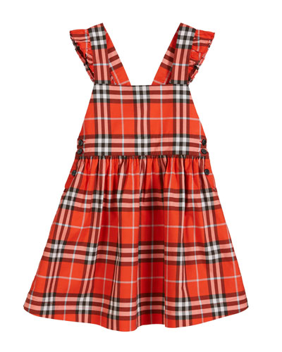 Livia Check Sun Dress  Size 3-14