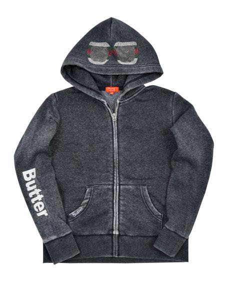 Butter Camp Hansa Studded Zip-Up Jacket, Size S-XL