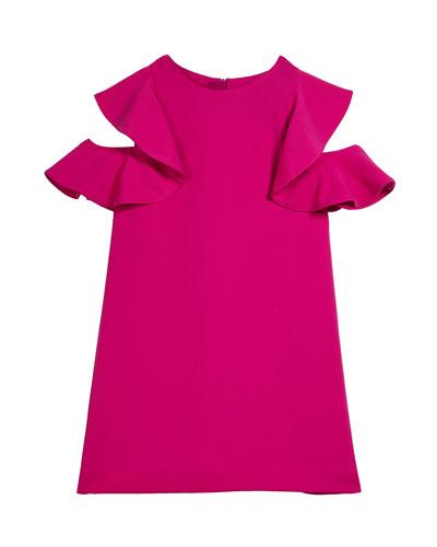 Finley Cold-Shoulder Cady Dress  Size 7-16