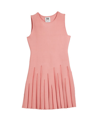 Pointelle Godet Flare Dress  Size 7-16