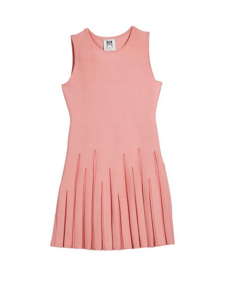Pointelle Godet Flare Dress, Size 7-16