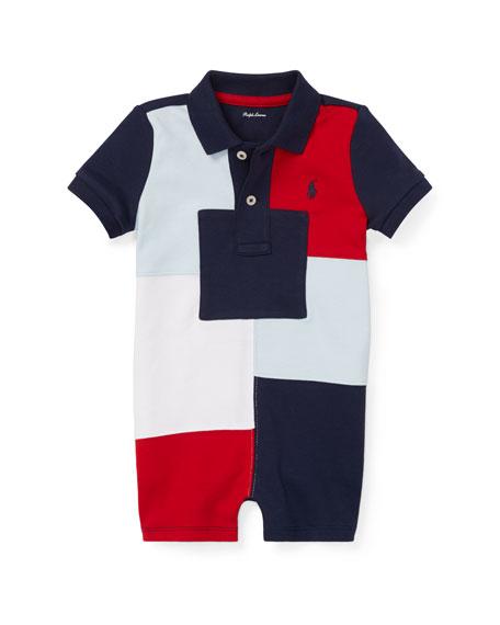 1f3b1d0ff Ralph Lauren Childrenswear Patchwork Polo Shortall