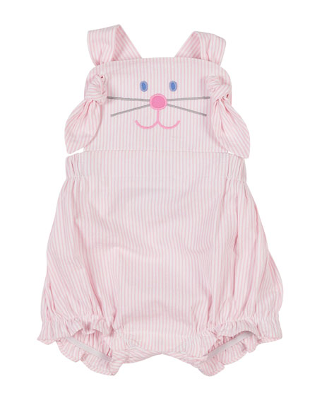 Image 1 of 1: Hop To It Bunny Romper, Size 3-18 Months