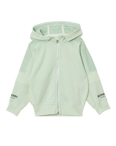 Milena Paneled Zip-Up Hoodie  Size 3-14