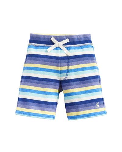 Buccaneer Multi-Stripe Cotton Shorts  Size 2-6