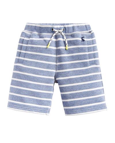 Seb Striped Jersey Shorts  Size 3-6