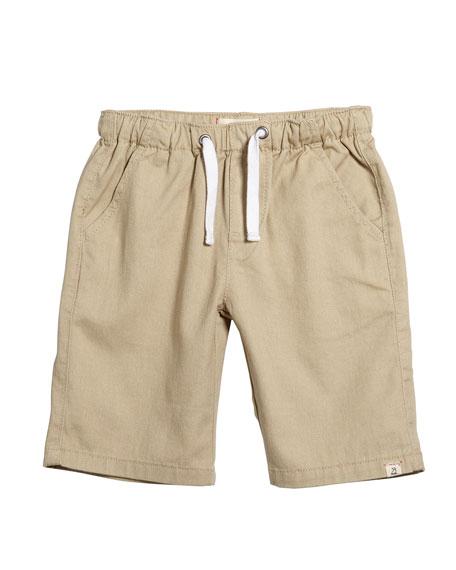 Me & Henry Stone Twill Bermuda Shorts w/