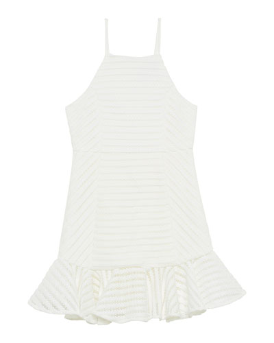 Piper Eyelet Sleeveless Dress  Size 8-16