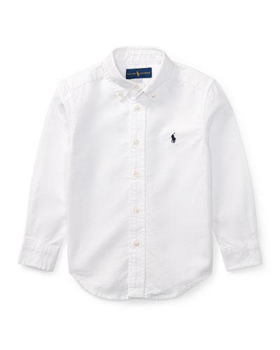 Oxford Sport Shirt  Size 2-4