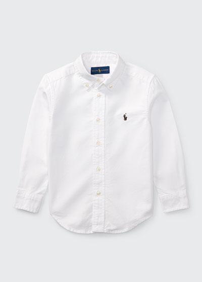 Oxford Sport Shirt  Size 4-7