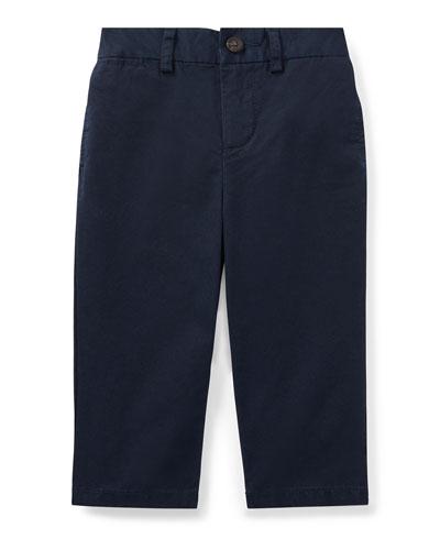 Suffield Straight-Leg Cotton Pants  Size 9-24 Months