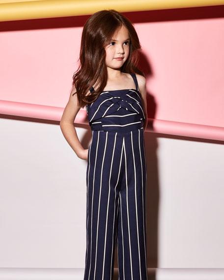 Lola Striped Jumpsuit, Size 8-16