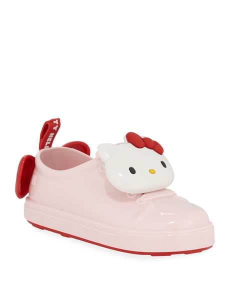 Mini Melissa Be Hello Kitty Sneakers, Baby/Toddler/Kids