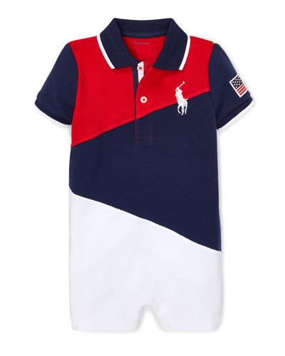 1f51ffa4 Diagonal Colorblock Polo Shortall Size 3-18 Months Quick Look. Ralph Lauren  Childrenswear
