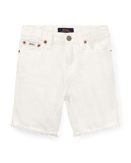 546b20d8c20 Ralph Lauren Childrenswear Raw Edge Denim Shorts, Size 2-4
