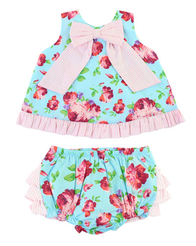 Life Is Rosy Swing Top w/ Matching Bloomers  Size 0M-2T