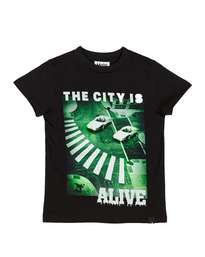 Raymont The City Is Alive Tee  Size 4-12