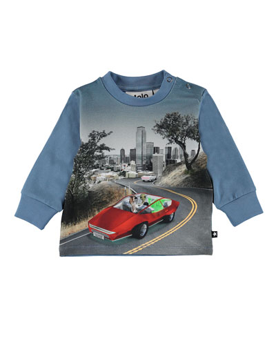 Eloy Self Driving Car Graphic Tee  Size 6-24 Months