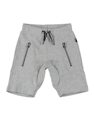 Ashton Sweat Shorts w/ Zip Pockets  Size 4-12