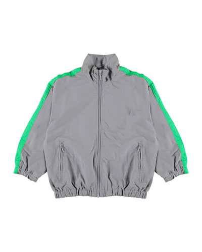 Mates Track Jacket w/ Contrast Taping  Size 4-12