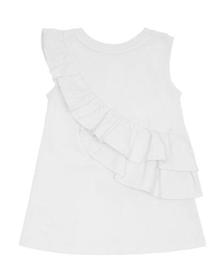 Sleeveless Ruffle Dress, Size 2-4T