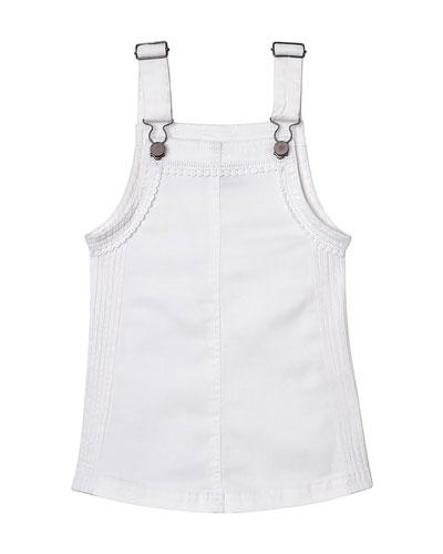 Penelope Lace-Trim Pinafore Dress  Size XS-XL