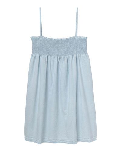 Layla Shirred Tank Dress  Size S-L